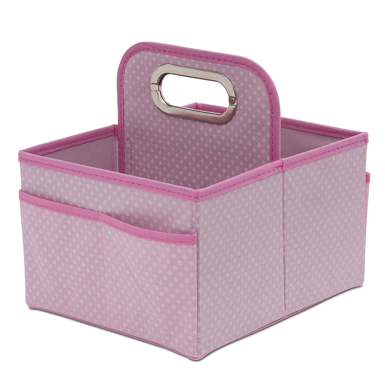 Delta Children Portable Nursery Caddy, Barely Pink Delta Enterprise Corp - PLA SS4478-689