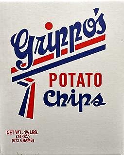 product image for Grippo's Plain Potato Chips (1.5lb Box)