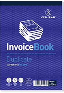 Pukka Pads Value 210x130mm Duplicate Invoice Book Pack of 5