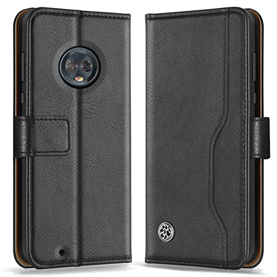 info for f3a13 4f3c1 ykooe Motorola Moto G6 Case, (Wallet Series) PU Leather Flip Case  Protective Cover with Kickstand Magnetic Closure for Motorola Moto G6