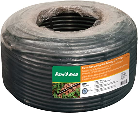 Garden Drip Irrigation Hose 200 300 or 500mm Spacing Optional Tap or Connector