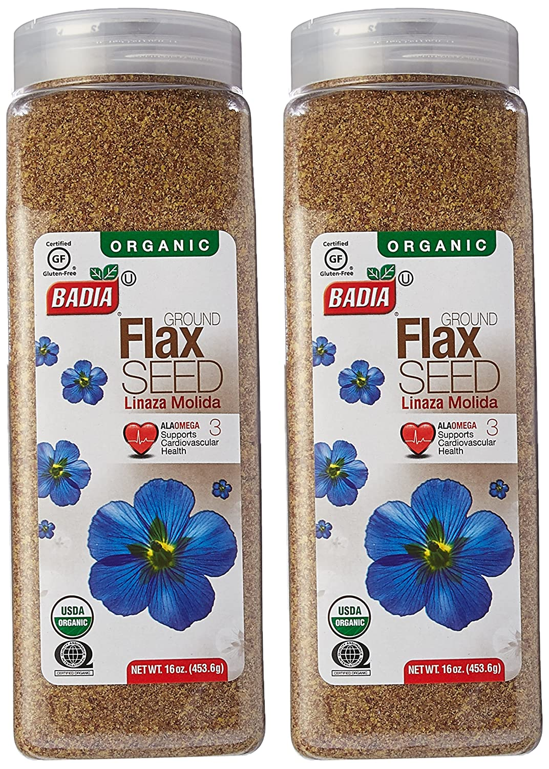 Amazon.com : Badia Flax Seeds Whole 16 Oz Pack of 2 : Grocery & Gourmet Food