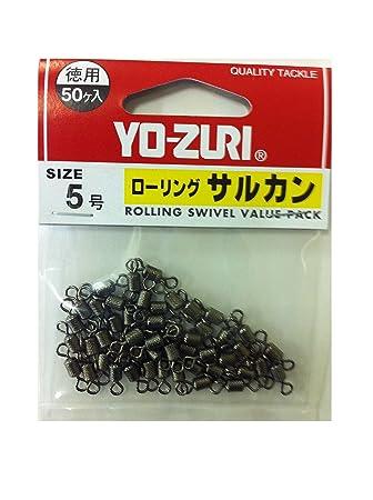 ヨーヅリ(YO-ZURI)雑品・小物:ローリングサルカン徳用黒5号の画像