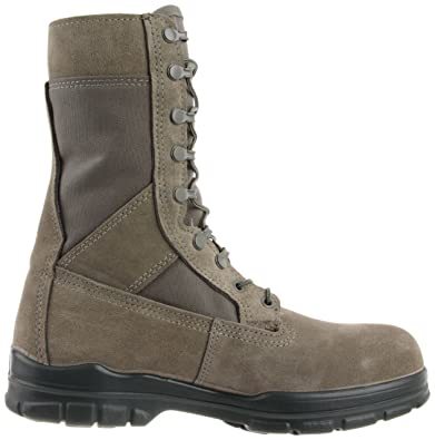 511c7bb7a9d Bates Men's 8 inches DuraShocks Steel Toe Work Boot, Sage, 14 M US ...