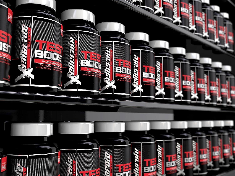 Test Boost para Hombres- 180 Cápsulas Suplemento de Apoyo Nutritivo de Testosterona - Los Ingredientes Contribuyen a los Niveles Normales de ...