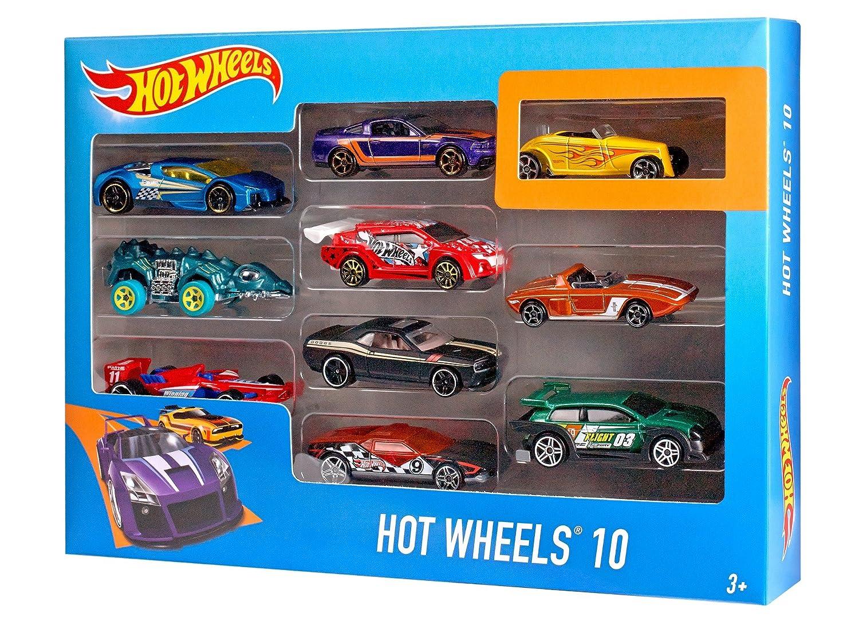 Hot Wheels 10 Car Pack (Styles May Vary) 54886