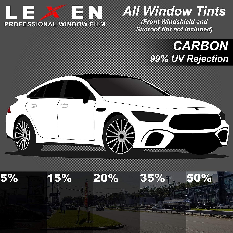 LEXEN Computer Pre-Cut Complete Tint Kit for All Windows