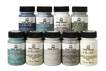 Amazoncom FolkArt Home Dcor Chalk Paint Set 2 Ounce PROMOFAHDC