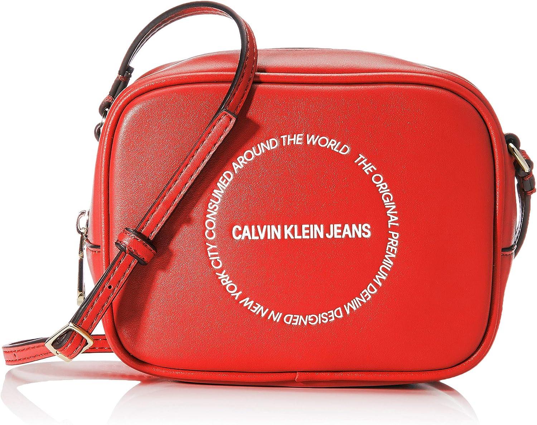Calvin Klein Sculpted Camera Bag, Bolso con Bandolera para Mujer, 0.1x0.1x0.1 centimeters (W x H x L)