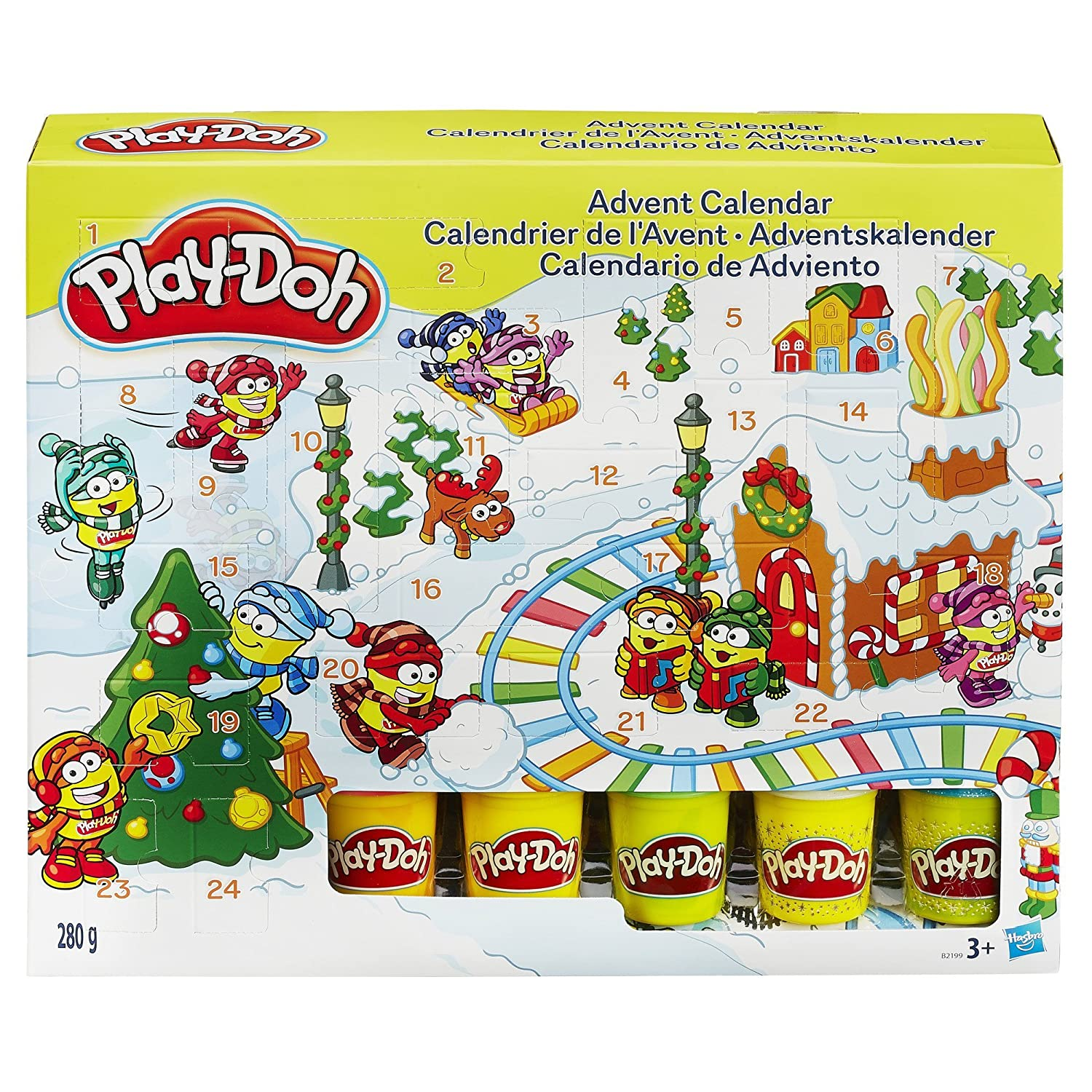 Play-Doh Advent Calendar Hasbro B2199EU70