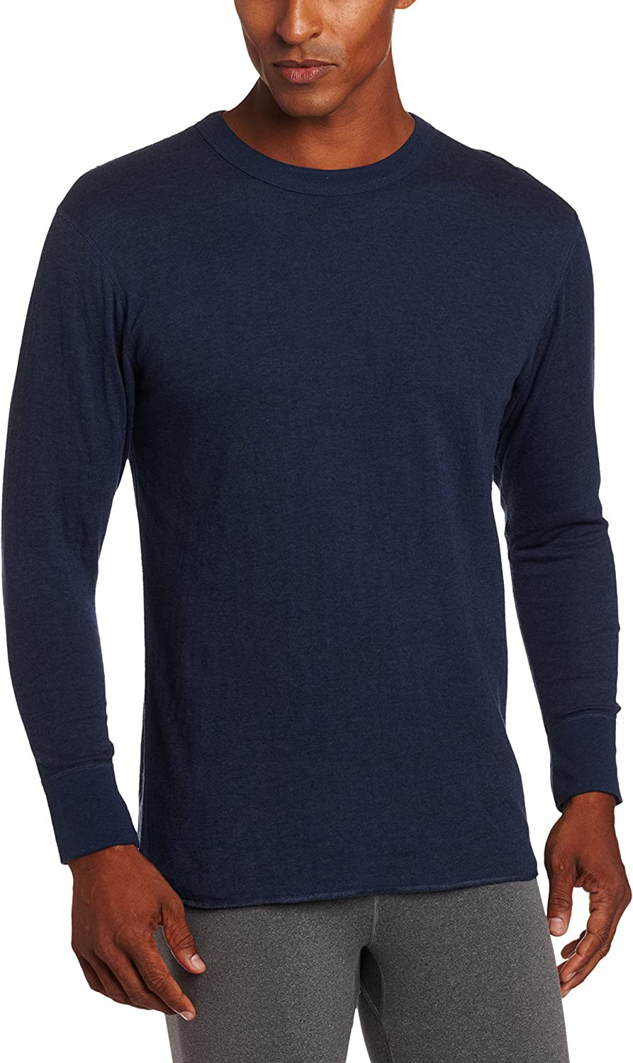 Duofold Men's Mid Weight Crew Neck Thermal Sleepwear at  Men's Clothing store: Base Layer Tops