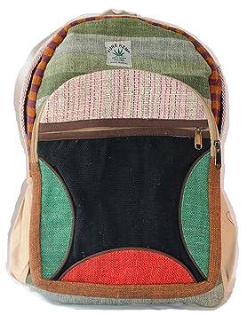 Mochila de cáñamo / Daypack para la escuela, viajes, vacaciones, ocio, al