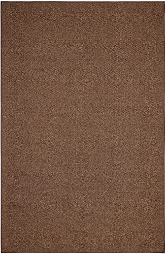 Outdoor Artificial Turf Chocolate Area Rugs with Premium Non Skid Backing Great for Decks, Patio s Gazebo s to Pools, Docks Boats and Other Outdoor Recreational Purposes 2 x3