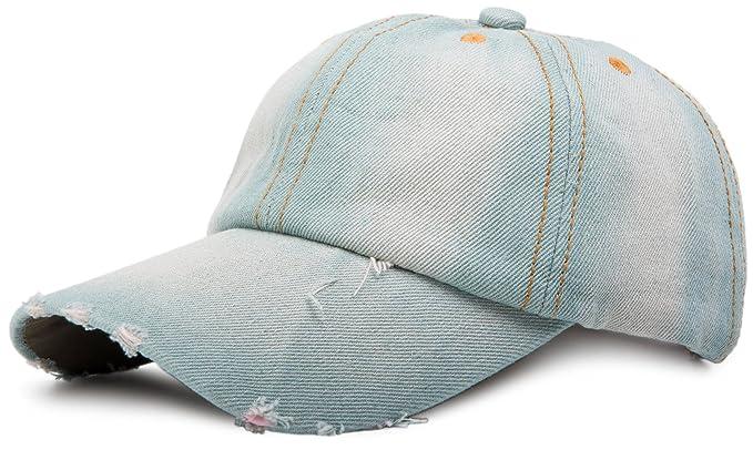 styleBREAKER gorra vaquera en apariencia vintage, gorra de béisbol, ajustable 04023026, Variante:Variante-4: Amazon.es: Ropa y accesorios