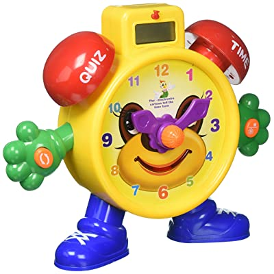 Liberty Imports Tell The Time Electronic Learning Teach Time Clock Educational Toy for Kids: Toys & Games [5Bkhe0302351]