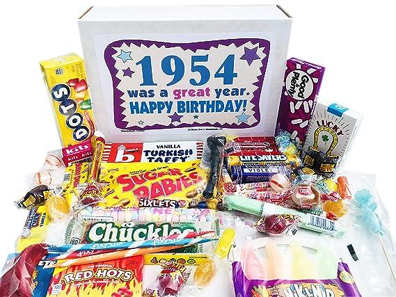Woodstock Candy ~ 1954 65th cumpleaños caja de regalo de ...