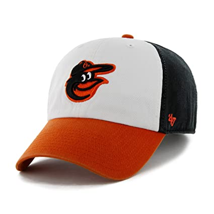 527eeb62b41 Amazon.com   MLB Baltimore Orioles  47 Brand Clean Up Home Style ...