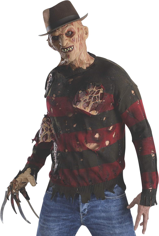 Jersey de Freddy Krueger deluxe para hombre: Amazon.es: Juguetes y ...