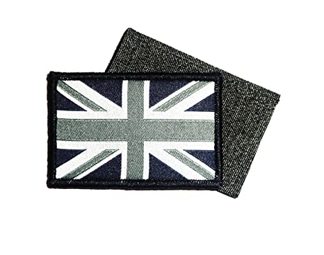 Gb Union Jack Patch Separate Hook And Loop Fasten Backed Ubac Army