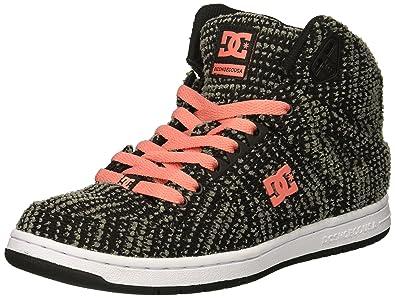 358965a97c09f6 Amazon.com   DC Shoes Womens Shoes Women's Pure Tx Se High Top Shoes ...