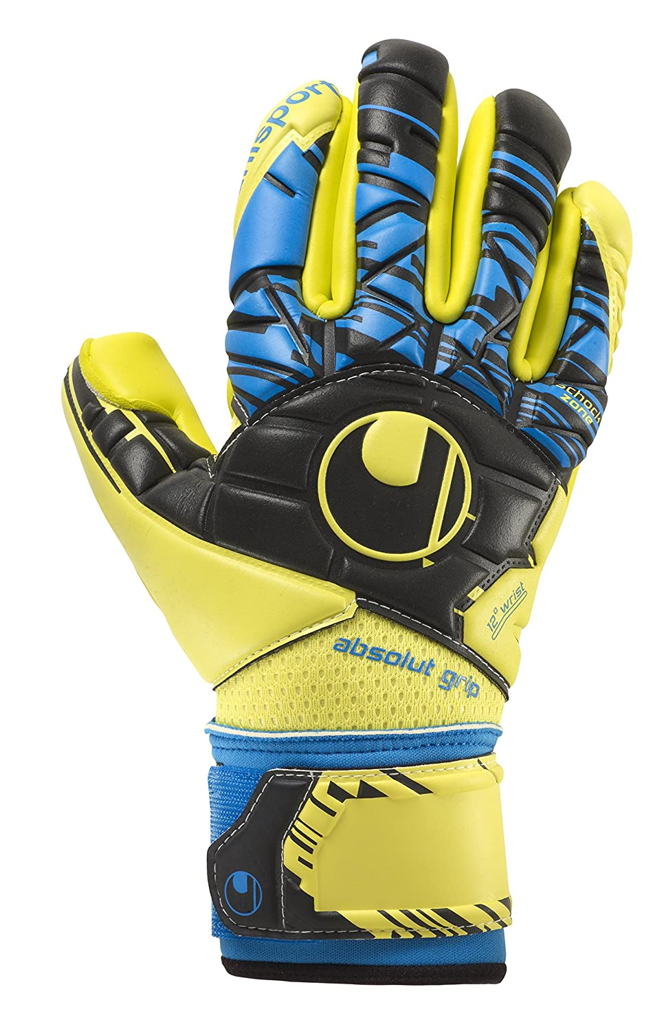 Uhlsport Herren Speed Up Now Absolutgrip Finger Surround Torwarthandschuhe