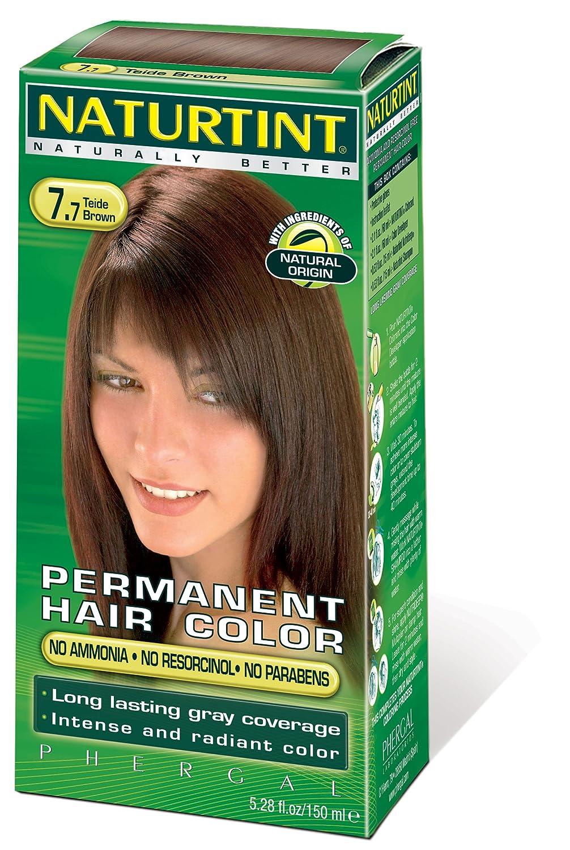 Amazon.com: Naturtint Hair Color Permanent, I-7.77 Teide Brown, 5.28 ...