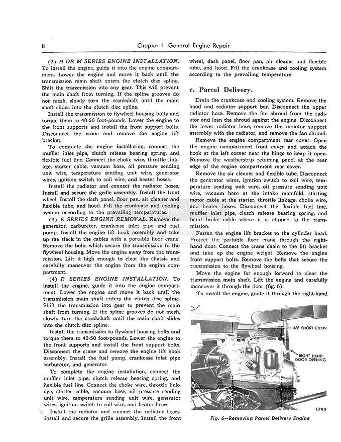 1949 1950 1951 Ford Shop Service Repair Manual Book CD Engine Drivetrain OEM