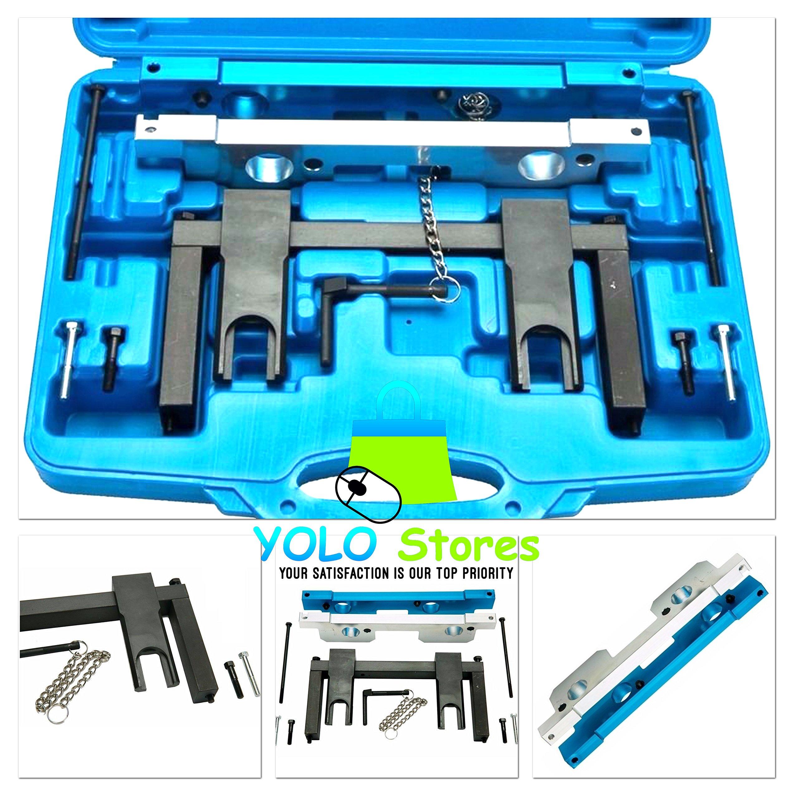 Camshaft Alignment Timing Tool Kit Engine Tools Set Vanos Plates For BMW N51/N52/N53/N54 By YOLO Stores