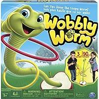 Spin Master Juegos Wobbly Gusano, anillo Toss juego para niños de 3-5años, reproductores (2-3)