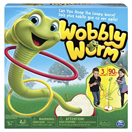 WOBBLY WORM SPIN MASTER