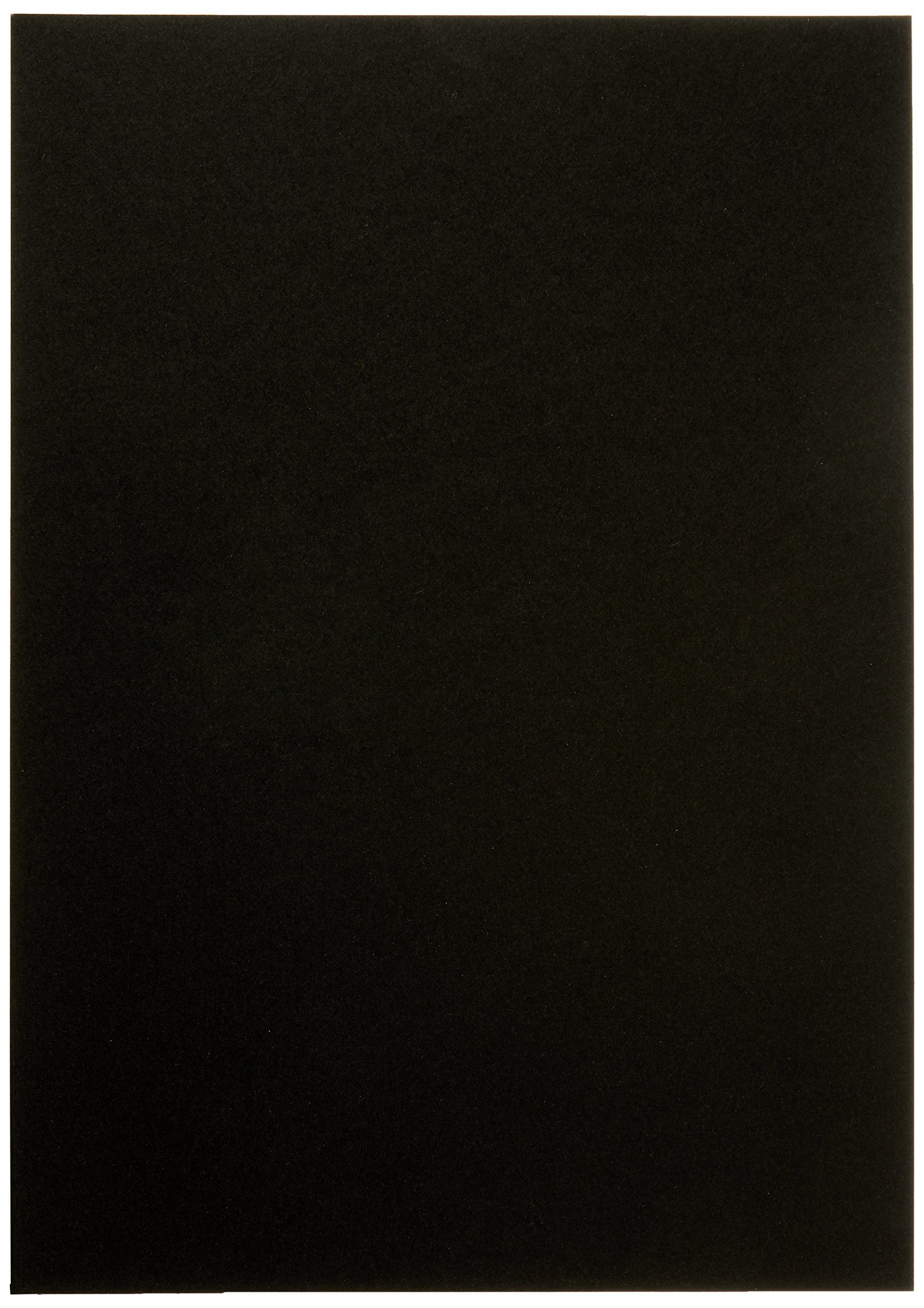 GOP 7640172351581Flap Linen Texture A4Pack of 100Black
