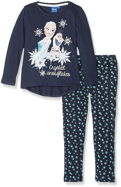 Disney Frozen Niña de set de cristal copos de nieve pijama de Frozen: Amazon.es: Ropa y accesorios