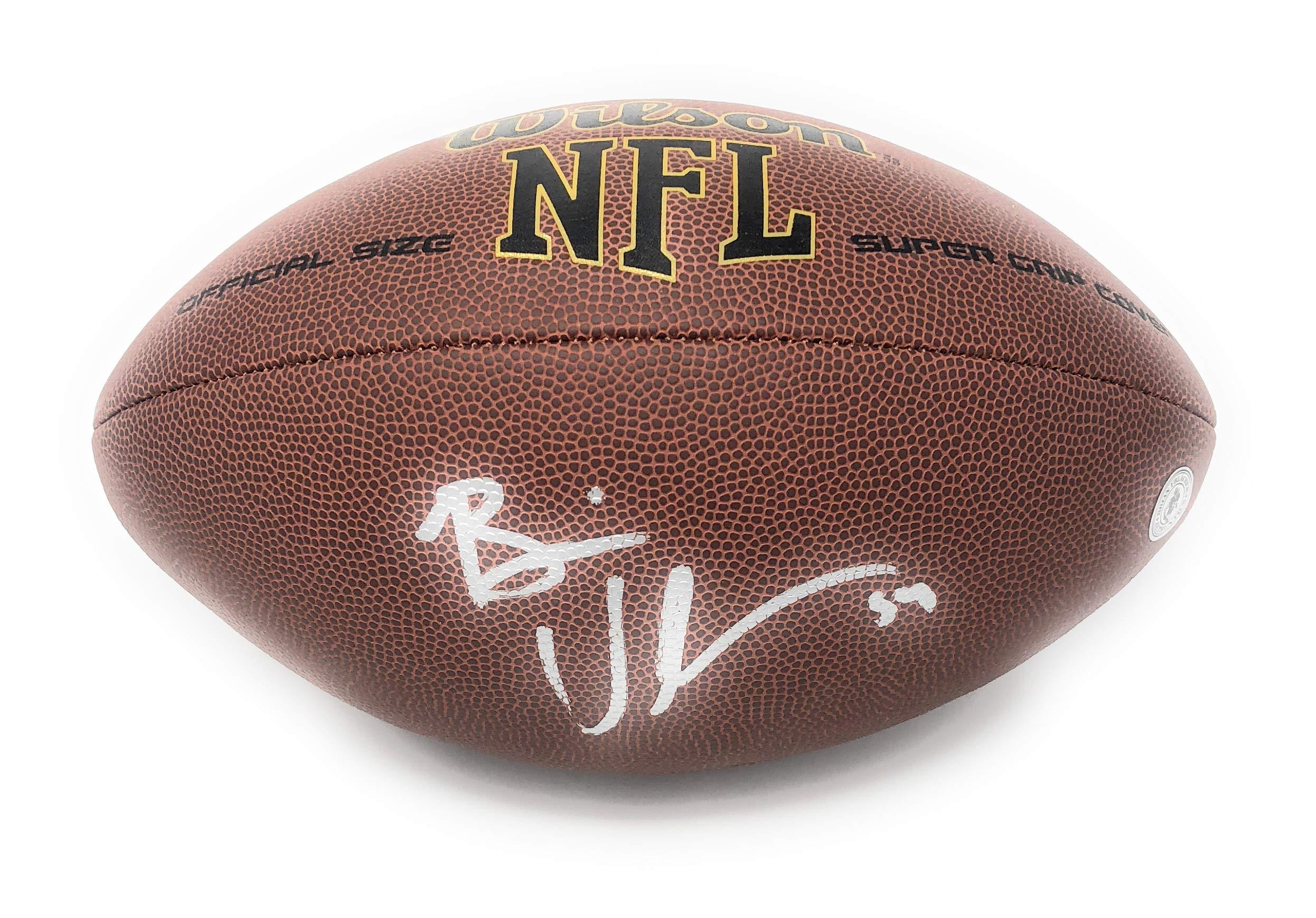 Brian Urlacher Chicago Bears Signed Autograph NFL Football Urlacher Player Hologram Certified