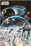 1art1 52991 Poster Star Wars Battaille 91 x 61 cm