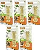 (5 Pack) Nylabone FlexiChew Chicken Flavored Bone Dog Chew Toy - Size Petit