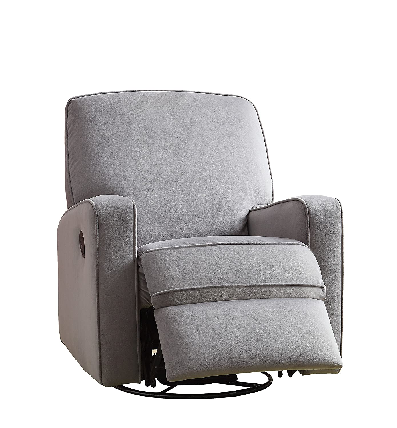 the reclining recliner mocha microsuede chair search chairs omega brick