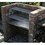 SunshineBBQs Heavy Duty 6mm DIY Charcoal Brick BBQ Kit