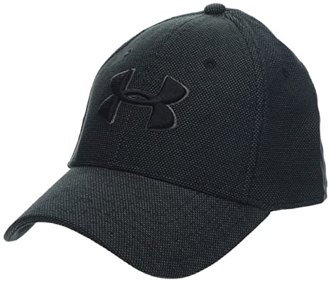 d56490f9a38 Amazon.com  Under Armour Men s Heathered Blitzing 3.0 Cap  Sports ...