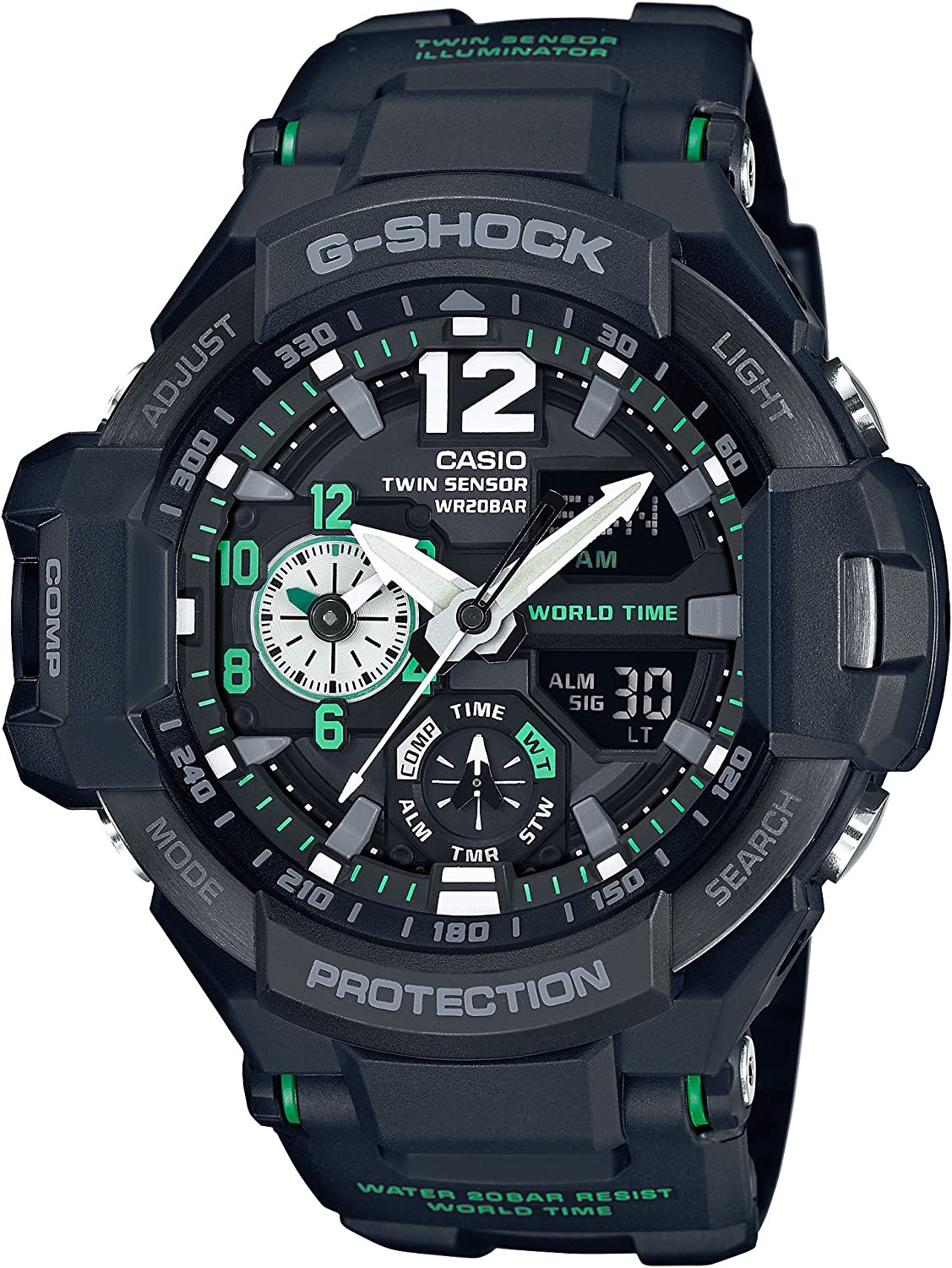 Casio G-Shock Sky Cockpit Ga-1100-1a3jf Pre-Order Japanese Model