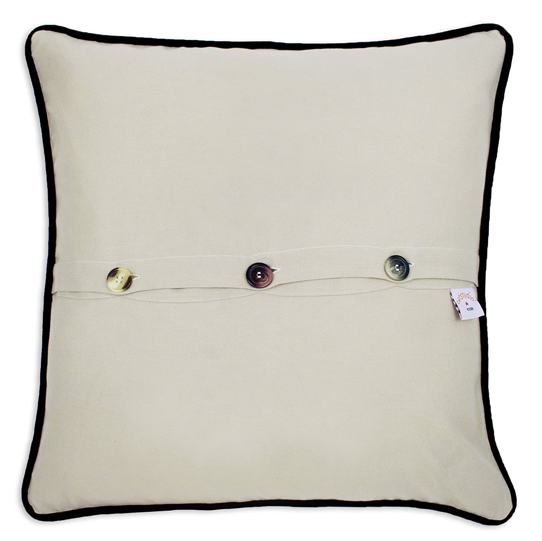 Pillow Perfect Outdoor Topanga Stripe Lagoon Over-Sized Rectangular Throw Pillow, Set of 2