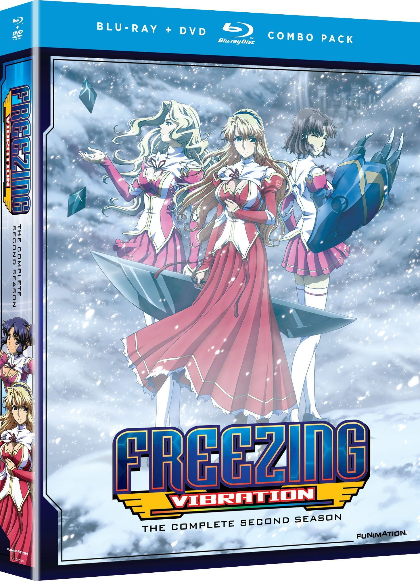 Blu-ray : Freezing Vibration: The Complete Series (With DVD, Boxed Set, , Dubbed, 4 Disc)