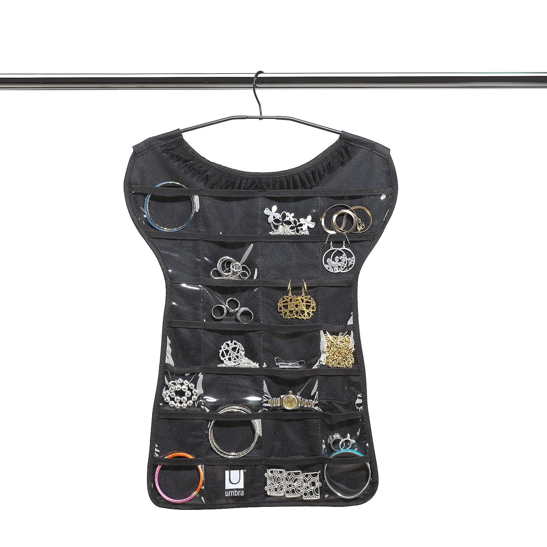 Umbra Little Black Tee Jewelry Organizer 299036-040 0059