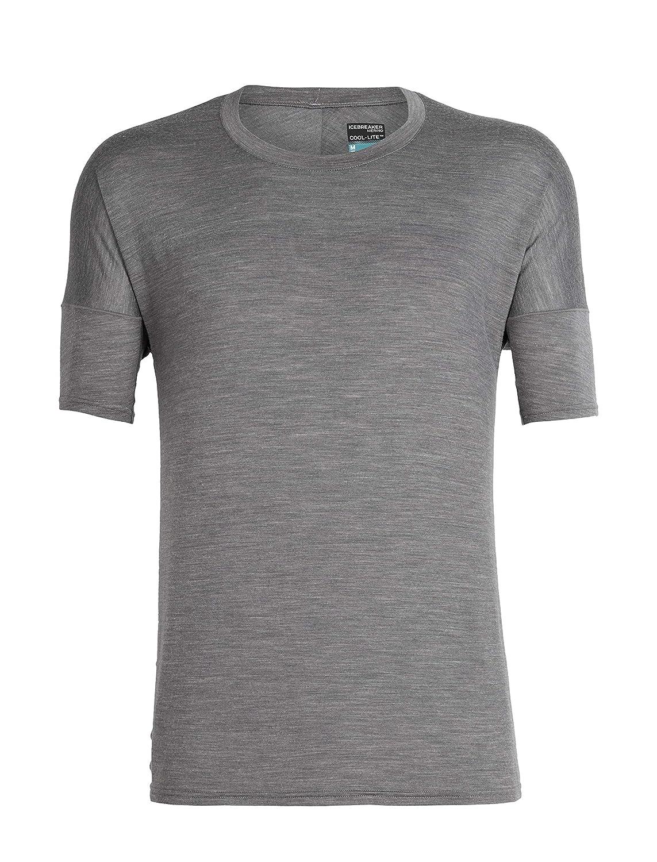 178e67903 Icebreaker Kinetica Running T-shirt Men grey/black 2019 sport tshirt ...