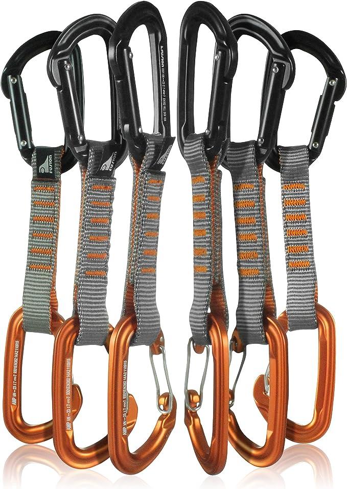 Fusion Climb 6-Pack 11cm Juego Quickdraw con mosquetón ...