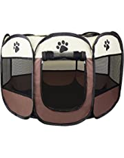 Cosy Life® Playpen Tent for Pets Dogs Puppies, 81x81x65 cm (medium)