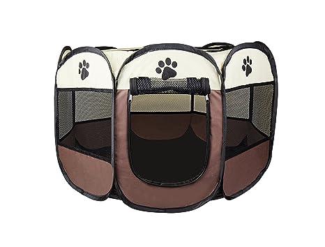 Cosy Life® Parque de juego para perros, cachorros, gatos, 81 x 81