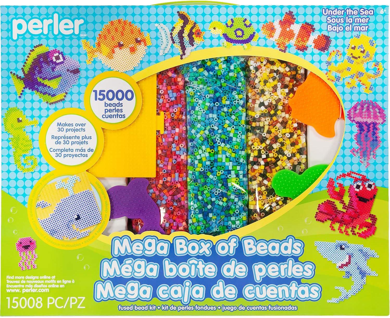 15000 pcs Perler Beads Tie Dye Mega Activity Kit