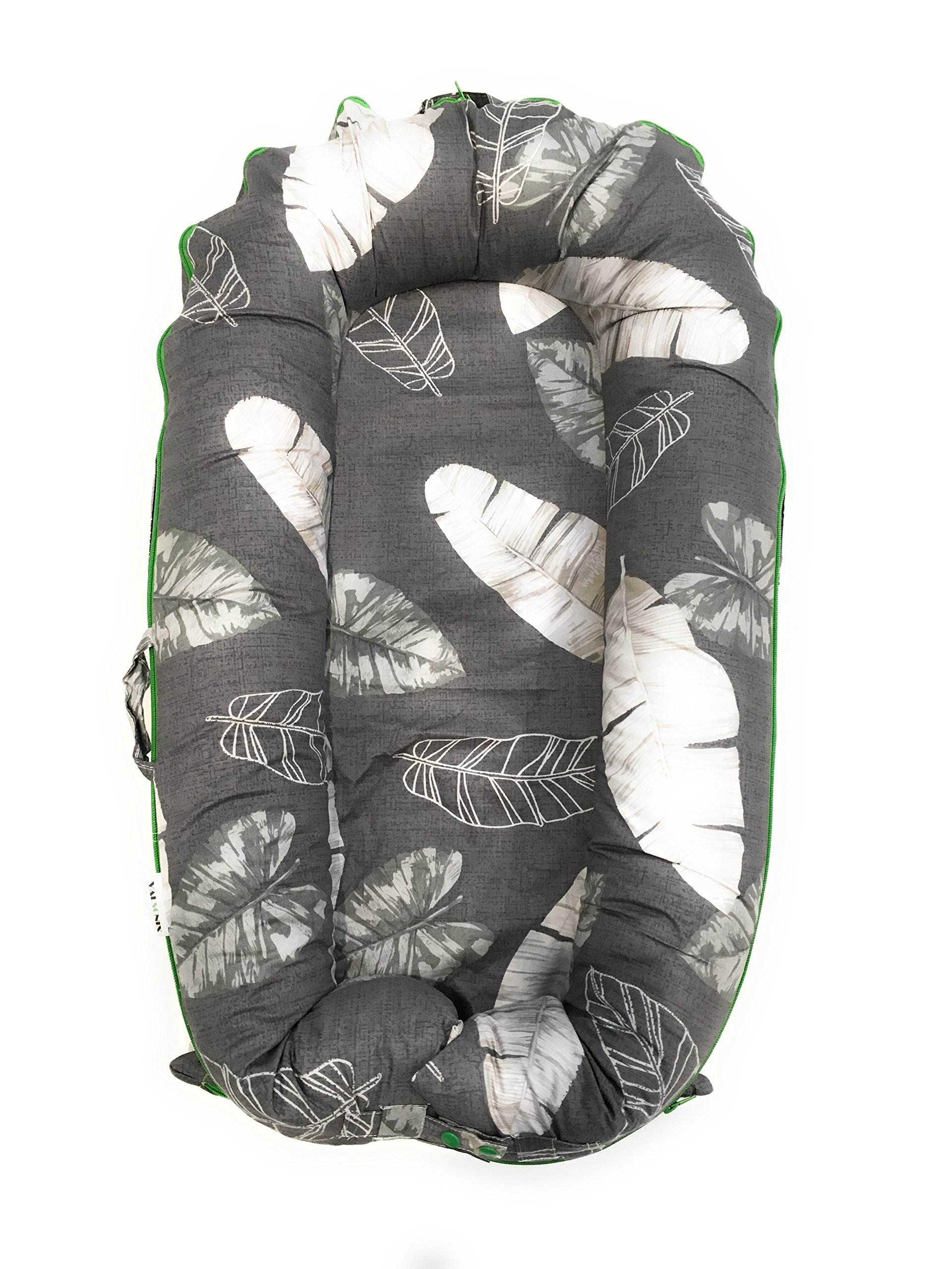Valsonix Baby Nest Cover [fits Dockatot Deluxe+] (Leaves)