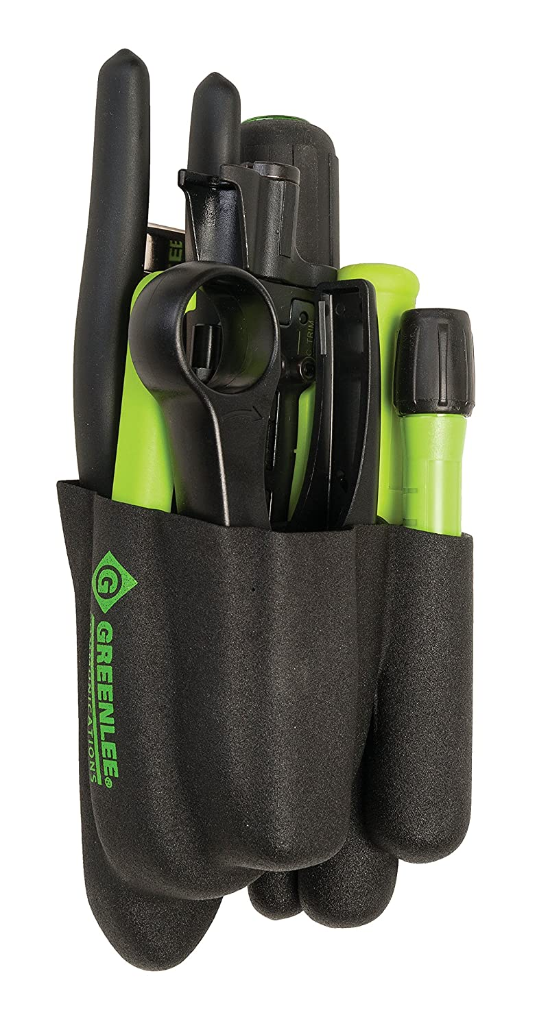 Greenlee 46602 Professional Coax Tool Kit, Short, Green by Greenlee  B00YEB8C9C