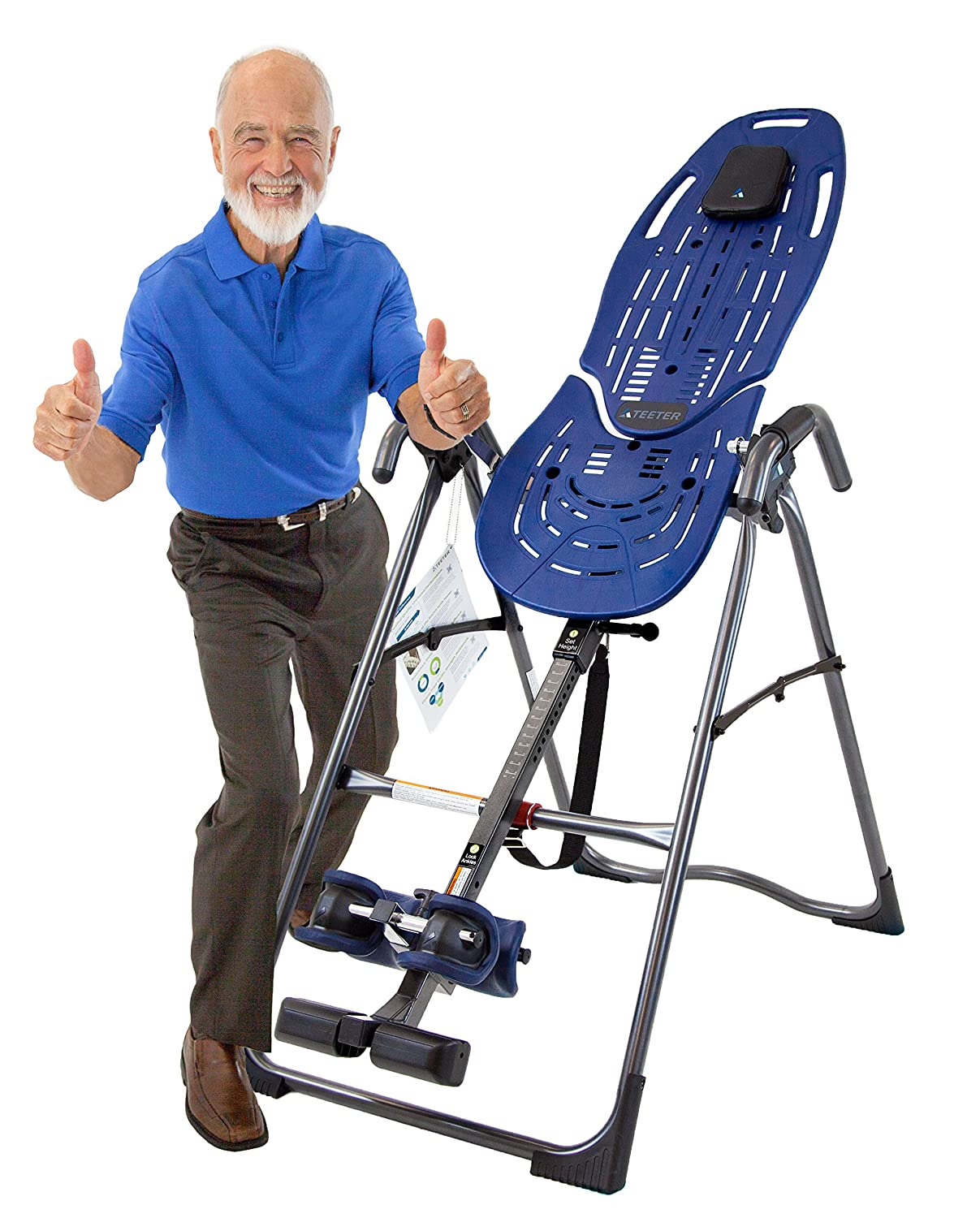 One Size Blue//Black Teeter EP560 Adult Inversion Table